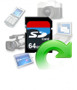 救回被格式化的SD卡內重要的資料