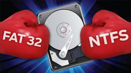 FAT-NTFS difference