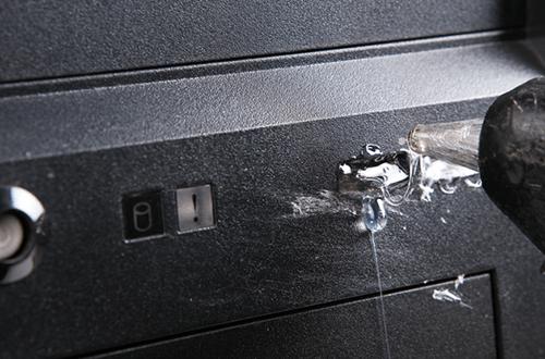 熱熔膠封USB埠