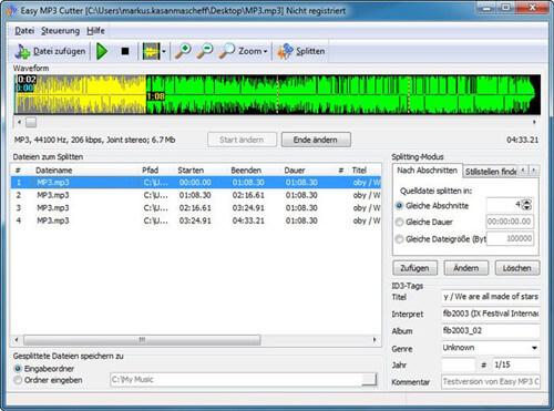免費的音訊剪輯軟體