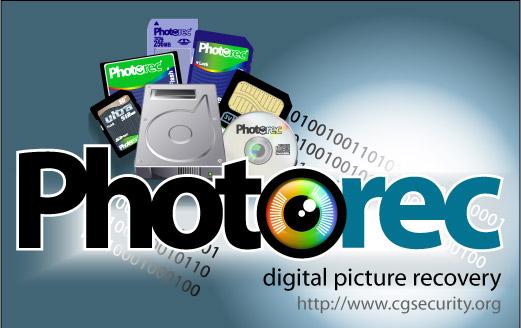 使用photorec修復Micro SD卡