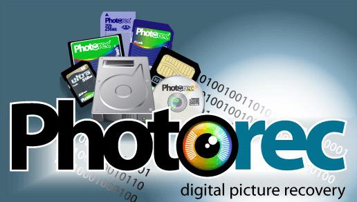 記憶卡救援軟體Photorec