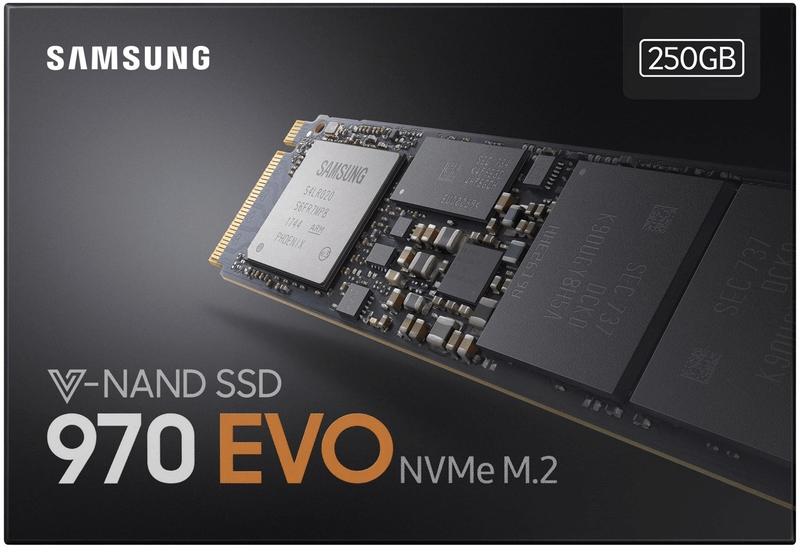 SSD推薦型號:三星970 EVO