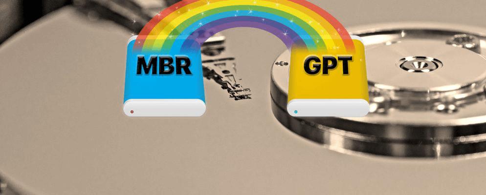 MBR與GPT是什麼