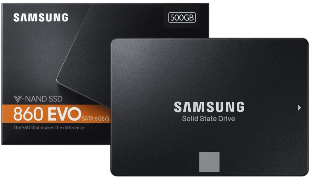 SSD推薦型號:三星860 EVO