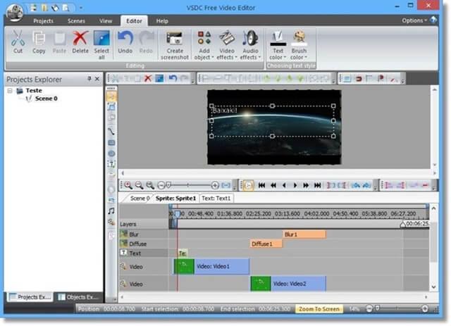 vsdc免費影片編輯軟體