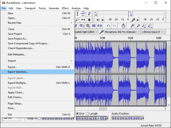Audacity音訊編輯器