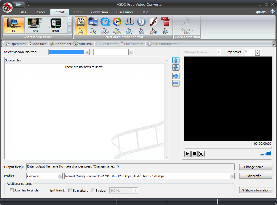 VSDC Free Video Editor軟體