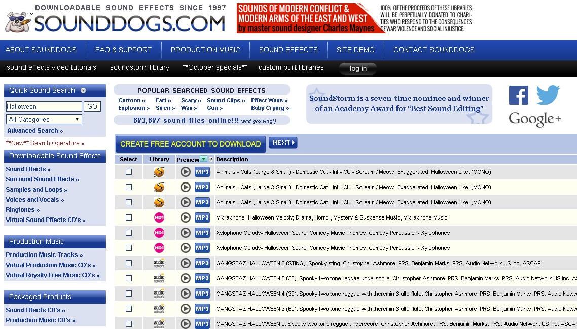 Sounddogs網站