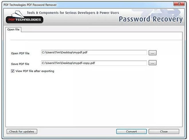 pdf加密