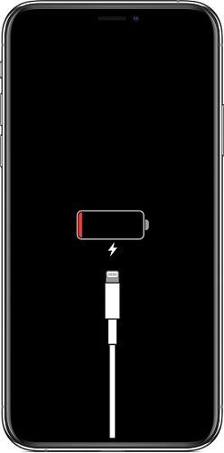 iPhone連接到電源