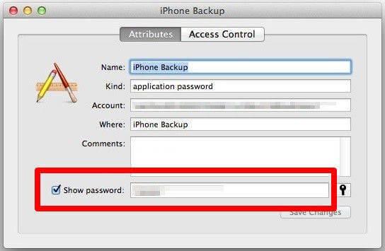 備份密碼iphone 電腦備份