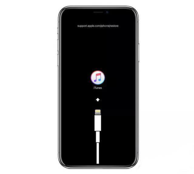 復原模式 iPhone無法開機
