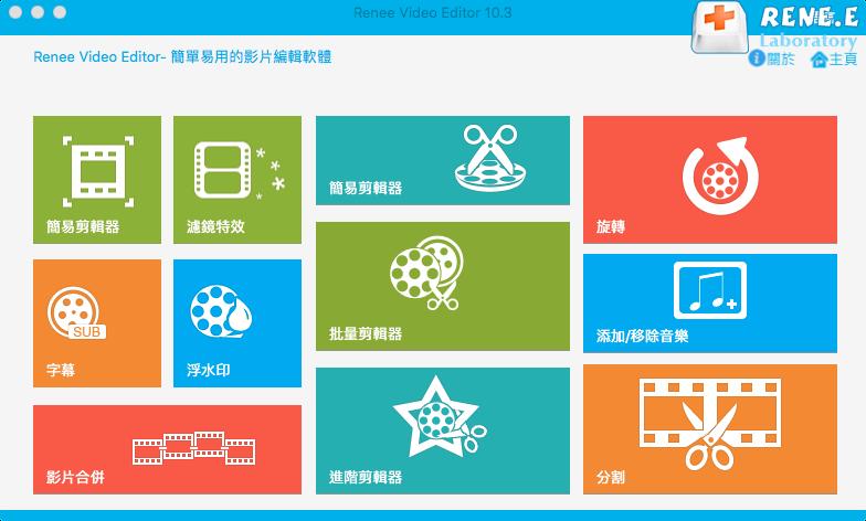 ReneeVideoEditor軟體