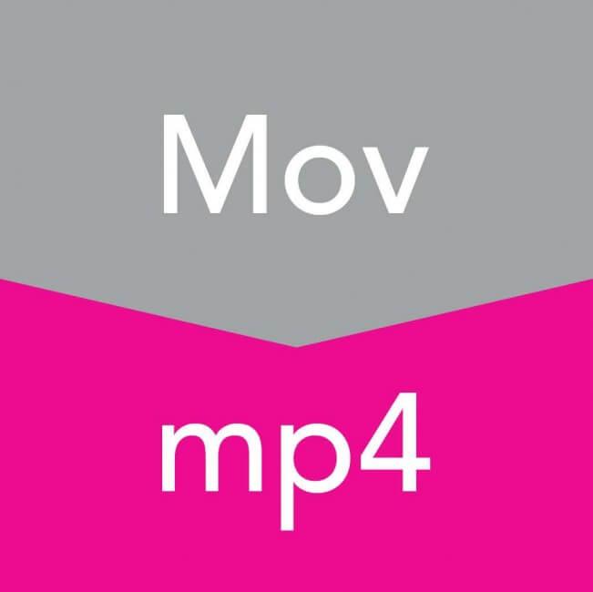 mov轉mp4