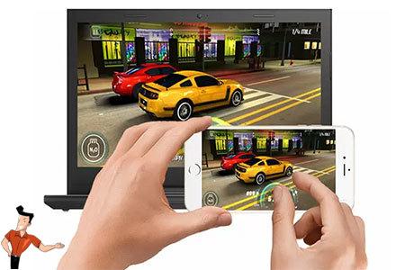 iphone 螢幕鏡像輸出