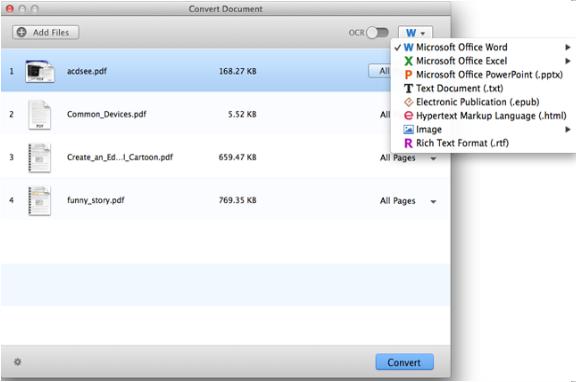 PDF Converter for Mac軟體