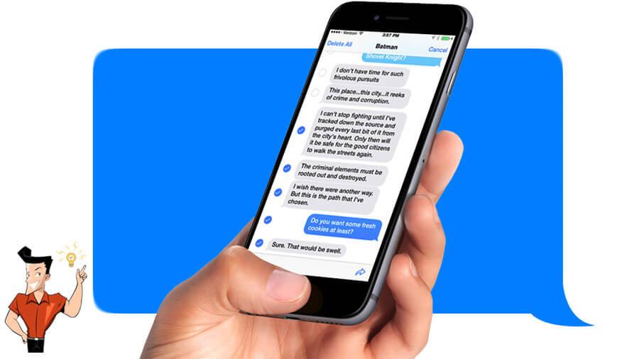 刪除 iPhone 簡訊