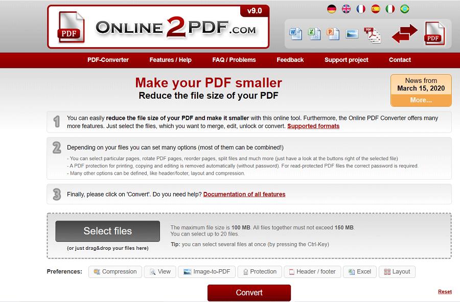 壓縮PDF