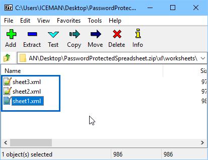 excel 忘記密碼