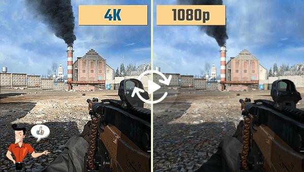 4k 轉1080p