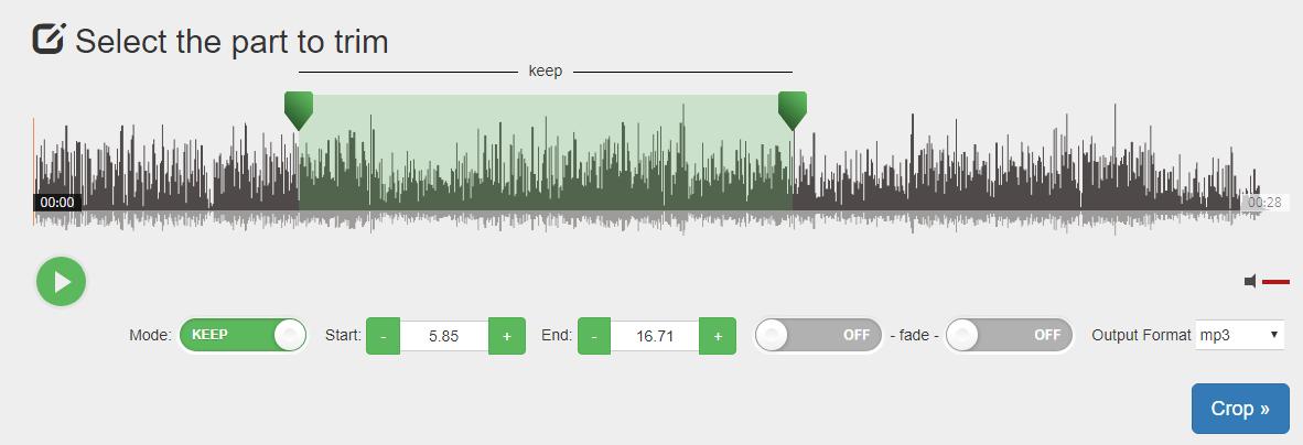 線上剪輯音樂
