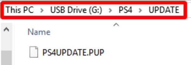 更新PS4